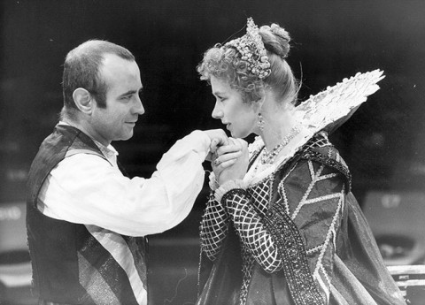 Bob Hoskins and Helen Mirren in The Duchess of Malfi at the Royal Exchange